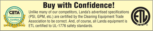 Buy with Confidence from Landa Midwest