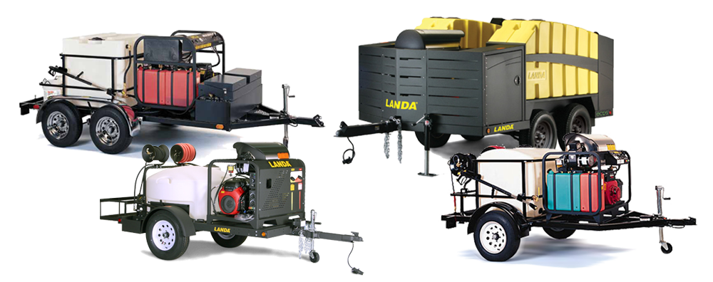 Landa Mobile Wash and Reclaim Systems