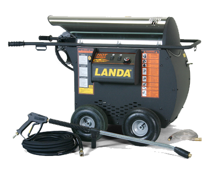Horizontal Coil available on the Landa HOT Series Model