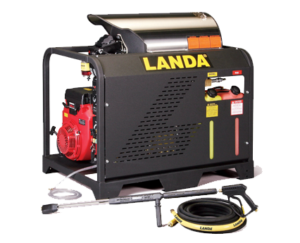 Horizontal Coil available on the Landa PGHW Series Model