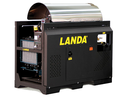 Landa SLX and SLT Hot Water Pressure Washers